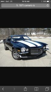 Looking for 1971 camaro any condition.
