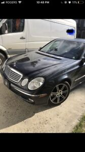 2003 Mercedes E500W Amg package 150km extra tires
