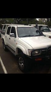 1998 Toyota hilux SR5 turbo diesel Paddington Brisbane North West Preview