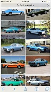 Looking for a ford maverick to restore