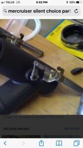 MerCruiser silent exhaust air cylinders