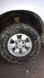 4x 15 inch Toyota SR5 wheels and Tyres