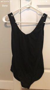 Black dance bodysuit