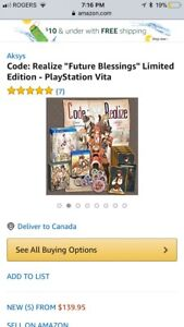 PlayStation Vita Code: Realize Future Blessings Limited Edition
