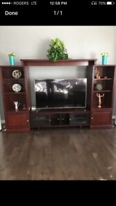 Wall Unit Entertainment stand