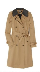 DKNY belted cotton twill trench coat - medium Paddington Eastern Suburbs Preview
