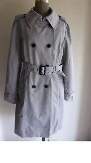 New! BEN SHERMAN Womens Ladies Trench Coat/ Jacket * L