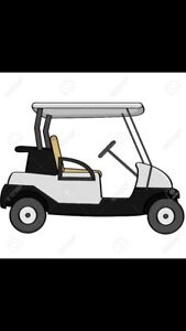 LOOKING FOR A ELECTRIC GOLF CART
