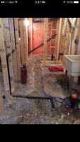 Basement Bathroom Plumbing Rough In