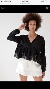 BNWT WILFRED AUGUSTINE BLOUSE (RETAILS $110)