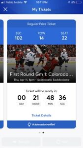 2 flames playoff tickets