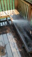 Deck refinishing, repairs and construction