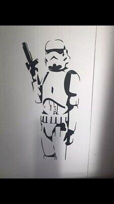 STAR WARS STORM TROOPER Wall Art Bedroom Vinyl Decal Sticker
