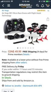Air Hogs DR1 Micro Race Drone with Flight Assist Technology