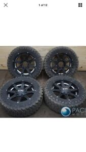 Rims and tires 8x6.5 20 inch