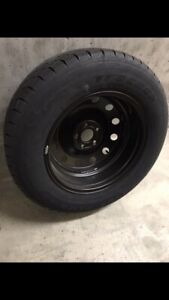 x4 Winter Tires with Rims 235/65R 17