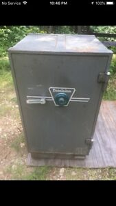 1960 Chubb Taylor fire proof safe