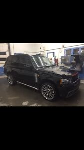 Range Rover L322 black on black suede