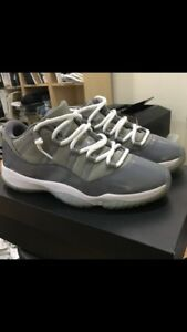 Jordan 11 cool grey og box size 10 160!! Great condition