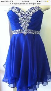 Grad Dress- Royal Blue