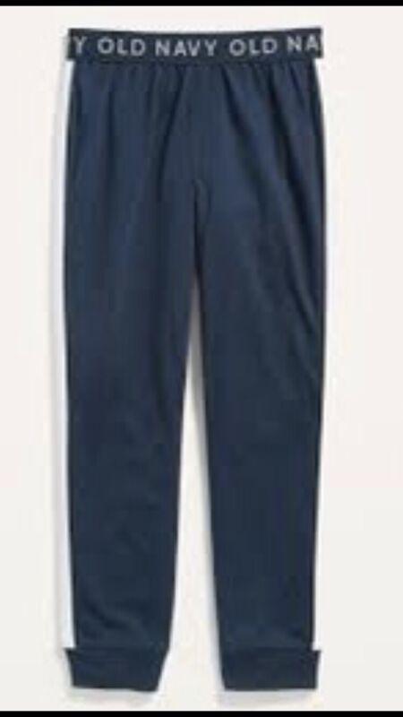 Old Navy Boys Navy/White Sleep Pajama Pants Lightweight Sz M (8) NWT