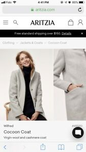 Aritzia Wilfred Cocoon Coat (New without tags)