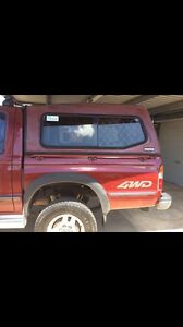 Mazda b2500 4x4 style side with canopy Burpengary Caboolture Area Preview