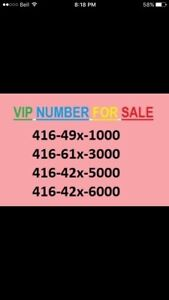 FOR SALE 416 NUMBERS ENDING 1000,3000,5000,8000