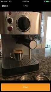 Cuisinart Espresso machine & Cuisinart Supreme Grind Burr Mill