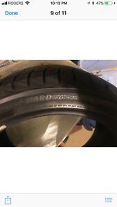 17in winter tires Yakohama