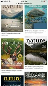 ISO magazines for classroom