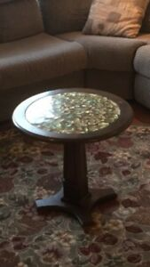 Matching Antique Coffee and End Table