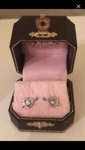 Juicy Couture Heart Arrow Earrings