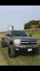 Lifted 2011 Chevrolet Silverado 1500