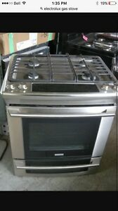 Electrolux gas stove for sale