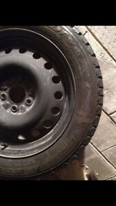 225 50 R17 GoodYear Winter tires and rims