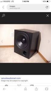Home theatre subwoofers