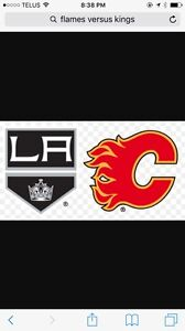 2 Tickets Flames vs Kings - March 29