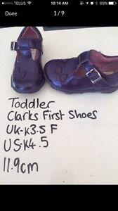 Clarks First shoes 6-9months  Edmonton Edmonton Area image 1