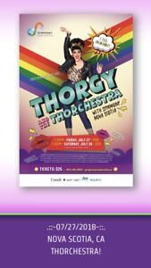 Great Thorgy Thor Tickets for sale