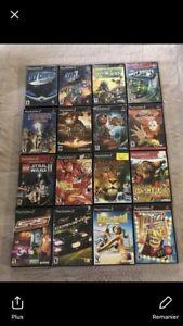 Jeux Ps2 Playstation 2 a Vendre 5$ Chaque !