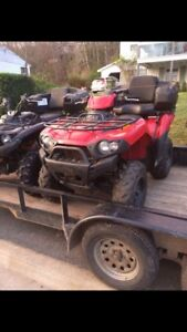 2005 brute force 750 only 1200kms!!