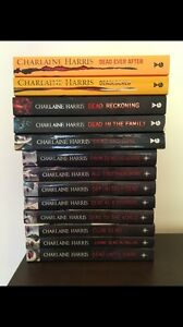True Blood full series books Charlaine Harris Bethania Logan Area Preview