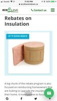 Top Up your Attic insulation $ 0.4 sqf After Government Rebate.