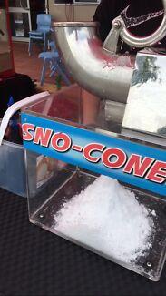 Snow cone machine hire