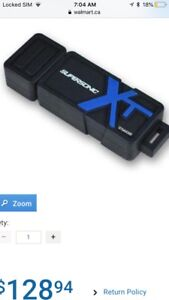 Only a few months old 256 gb super fast 3.0 USB flash hard drive
