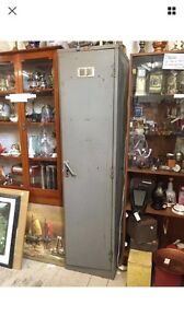 Vintage Industrial single Door School Locker Cabinet Storage Wardrobe Queenstown Port Adelaide Area Preview
