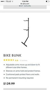 Bike Bunk for sale