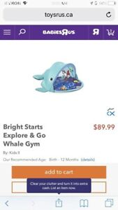 Bright Stars Explore and Play Whale Gym