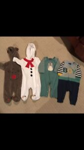 Knitted outfits and Christmas Sleepers